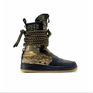 Nike Air Force 1 SF Camouflage Camo Boots Size 14